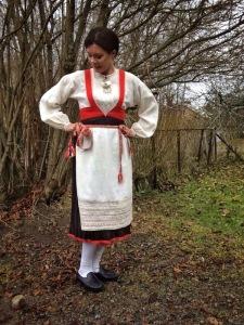 Käkisalmen kansallispuku Käkisalmi folkdräkt Käkisalmi national costume
