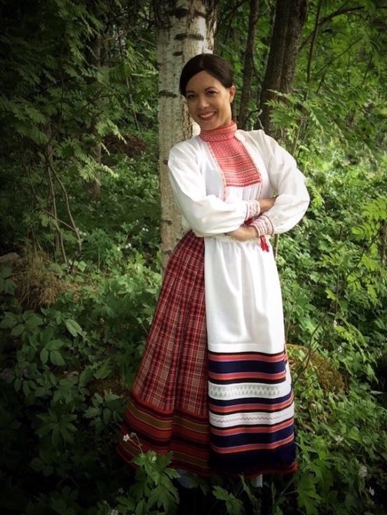 Koiviston kansallispuku Koivisto national costume