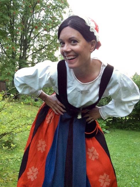 Kuortaneen kuoropuku Kuortane choir dress