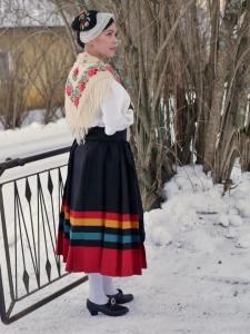 Helsingin pitäjän kansallispuku Helsinge folkdräkt Helsinge national costume