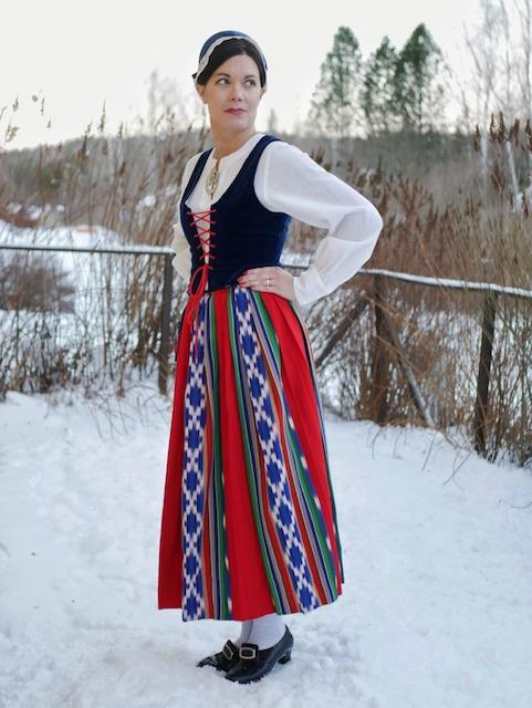 Jurvan kansallispuku Jurva folkdräkt Jurva national costume