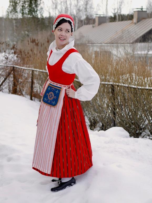 Punkalaitumen kansallispuku Punkalaidun national costume