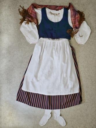 Asikkalan kansallispuku Asikkala folkdräkt Asikkala national costume