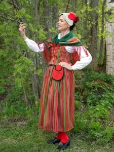 Kuoreveden kansallispuku Kuorevesi national costume