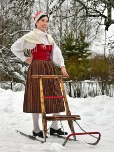 Merikarvian kansallispuku Merikarvia folkdräkt Merikarvia national costume