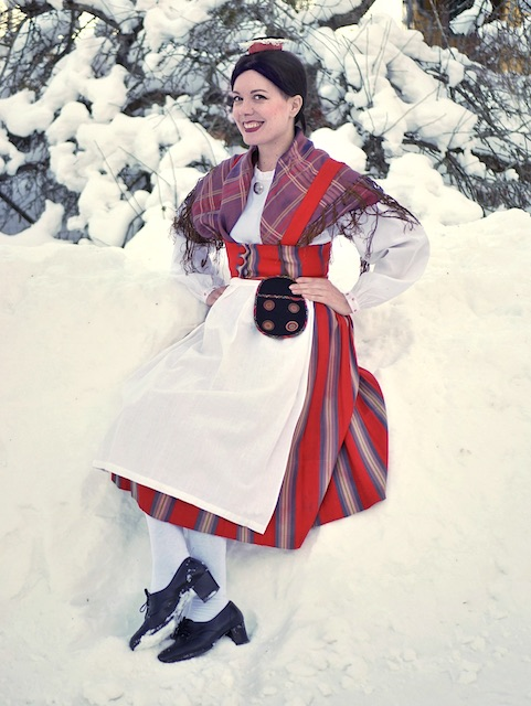 Nastola-Asikkalan kansallispuku Nastola-Asikkala national costume