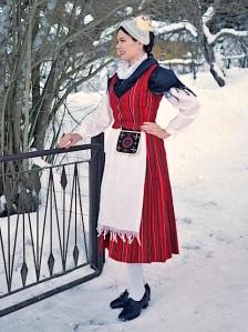 Viljakkalan kansallispuku Viljakkala national costume
