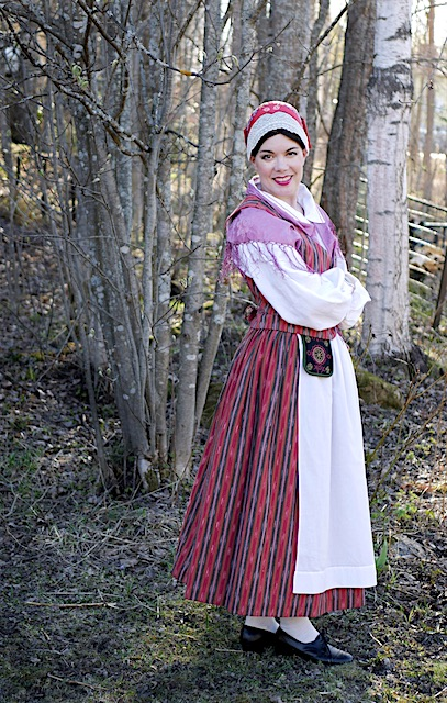 Huittisten kansallispuku Huittinen folkdräkt Huittinen national costume