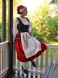 Teuvan kansallispuku Teuva folkdräkt Teuva national costume