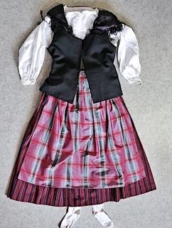 Lappeen kansallispuku Lappee folkdräkt Lappee national costume