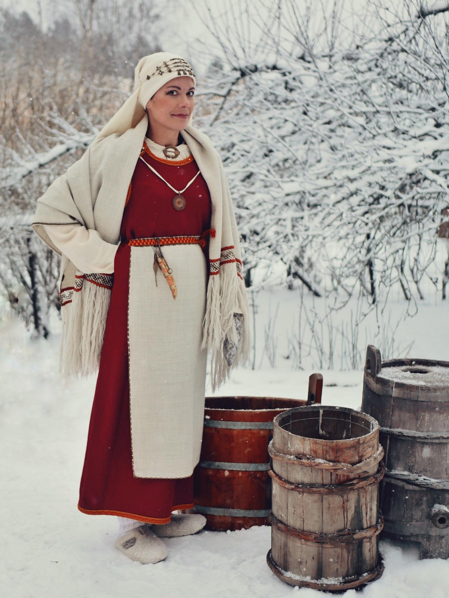 Perniön muinaispuku Perniö ancient costume