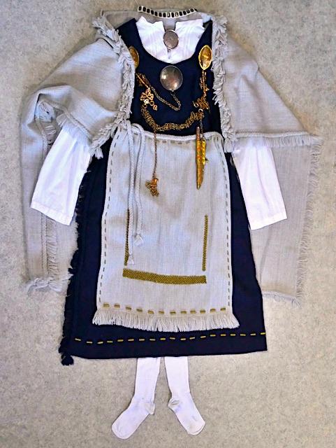 Tuukkalan muinaispuku Tuukkala ancient costume