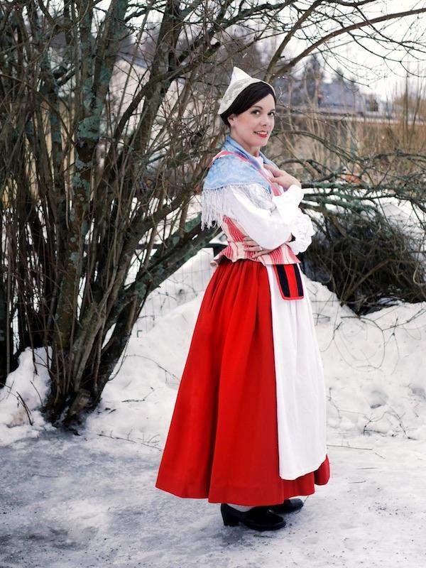 Hämeen kansallispuku Häme national costume