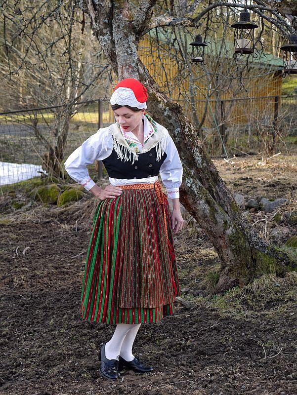 Petolahden kansallispuku Petalax folkdräkt