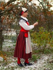 Kymenlaakson kansallispuku Kymenlaakso folkdräkt Kymenlaakso national costume