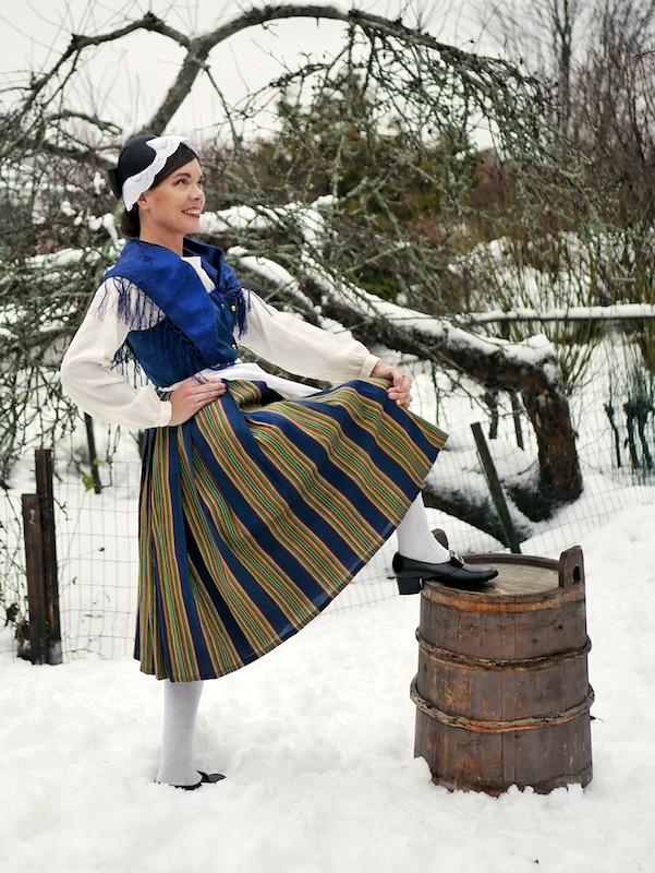Euran kansallispuku Eura national costume Eura folkdräkt