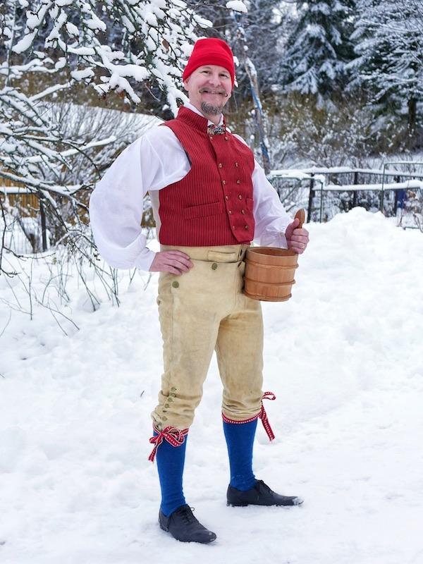Häverön kansallispuku Häverö folkdräkt Häverö national costume