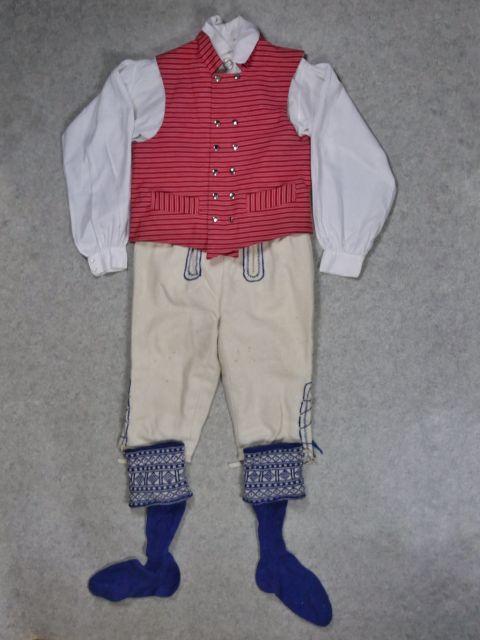 Seiskarin kansallispuku Seiskari folkdräkt National costume of Seiskari