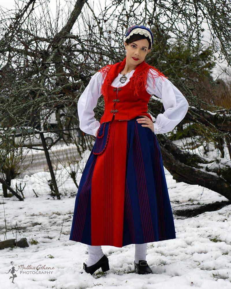 Töysän puku Töysä traditional costume